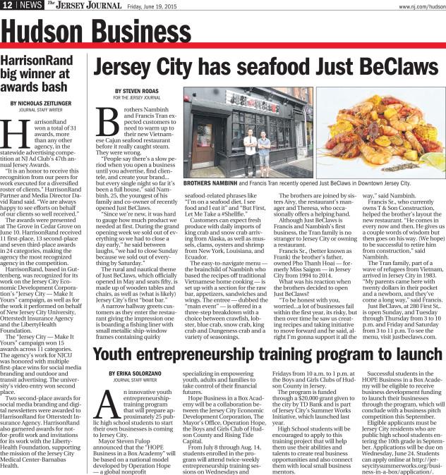 Jersey Journal 6.19.15
